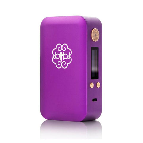 dotmod 200W dotbox, purple. The Village Vaporette.