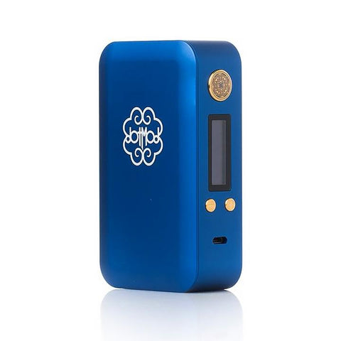 dotmod 200W dotbox, Royal Blue. The Village Vaporette.