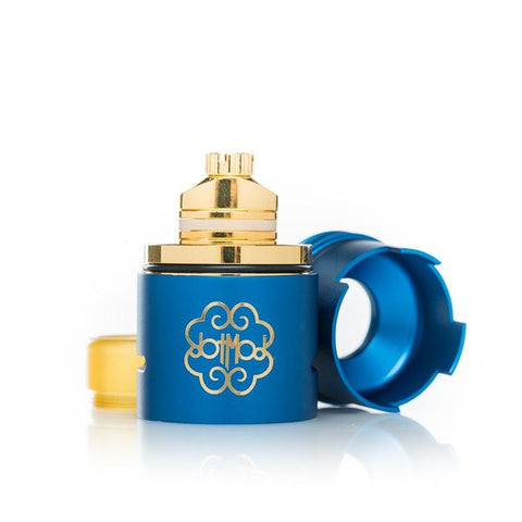 dotmod dotRDA, blue. The Village Vaporette.