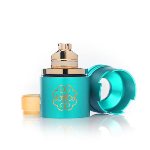 dotmod dotRDA, tiffany blue. The Village Vaporette.