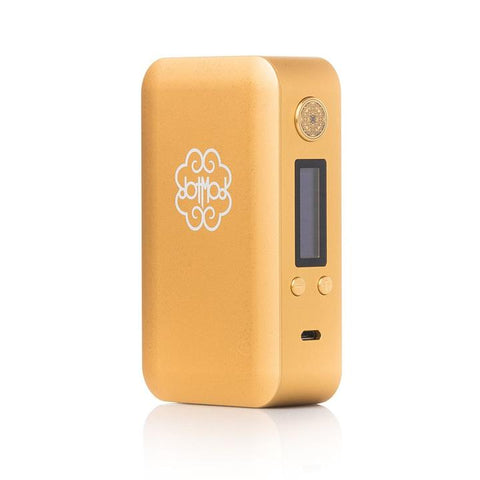 dotmod 200W dotbox, gold. The Village Vaporette.