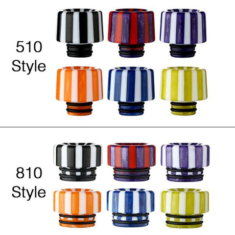 Epoxy Resin STRIPE Drip Tips