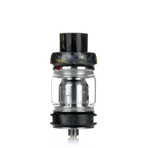 Freemax Fireluke Mesh Pro 6mL Tank, black. The Village Vaporette, Cambridge, Ontario, Canada, resin, bubble glass, dual coil, mesh coil, 25mm,