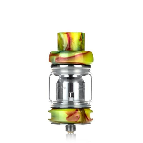 Freemax Fireluke Mesh Pro 6mL Tank, green. The Village Vaporette, Cambridge, Ontario, Canada, resin, bubble glass, dual coil, mesh coil, 25mm,