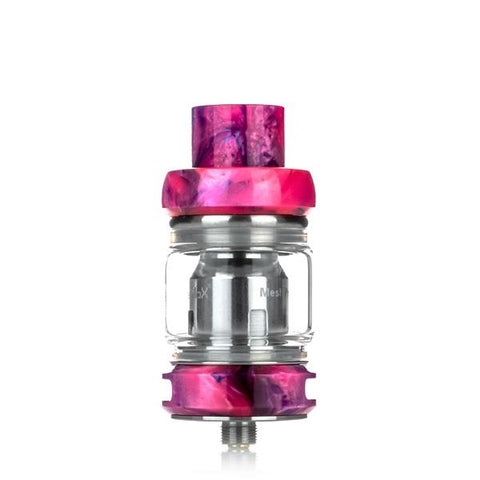 Freemax Fireluke Mesh Pro 6mL Tank, pink. The Village Vaporette, Cambridge, Ontario, Canada, resin, bubble glass, dual coil, mesh coil, 25mm,
