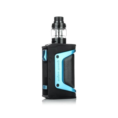 Geekvape Aegis Legend 200W Kit, azure. The Village Vaporette, Cambridge, Ontario, Canada, box mod, vape kit, vape box, vape mod,