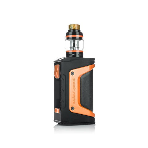 Geekvape Aegis Legend 200W Kit, orange. The Village Vaporette, Cambridge, Ontario, Canada, box mod, vape kit, vape box, vape mod,