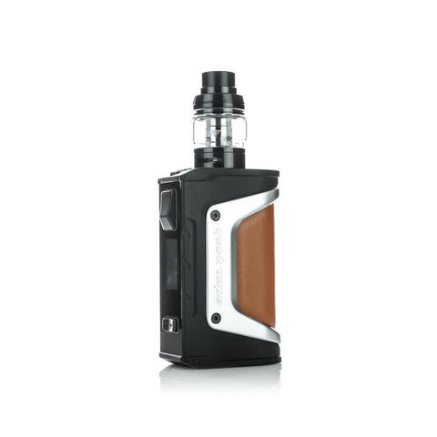 Geekvape Aegis Legend 200W Kit, silver. The Village Vaporette, Cambridge, Ontario, Canada, box mod, vape kit, vape box, vape mod,