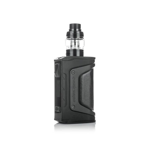 Geekvape Aegis Legend 200W Kit, stealth black. The Village Vaporette, Cambridge, Ontario, Canada, box mod, vape kit, vape box, vape mod,