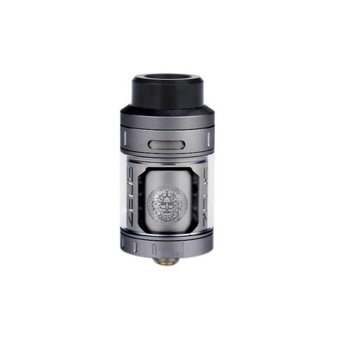 Geekvape Zeus RTA, gun metal. The Village Vaporette.