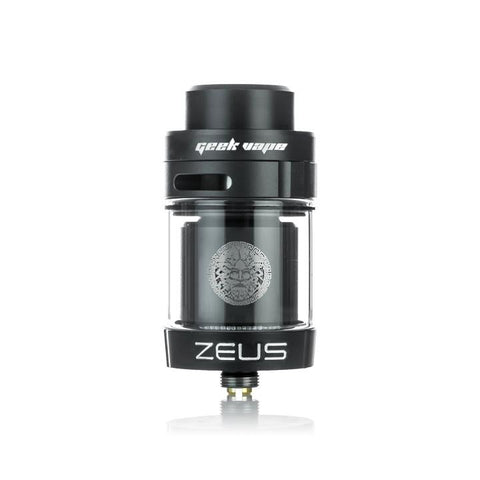 Geekvape Zeus Dual RTA, black. The Village Vaporette.