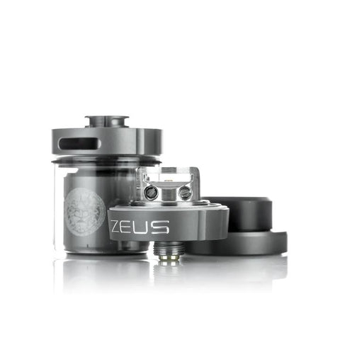Geekvape Zeus Dual RTA, parts. The Village Vaporette.