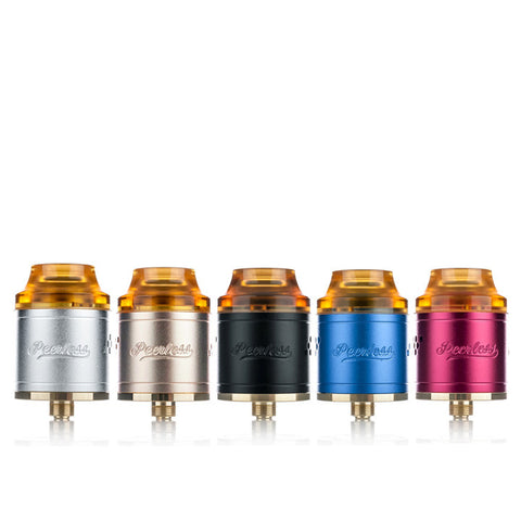 Peerless RDA by Geekvape, all colours. The Village Vaporette.
