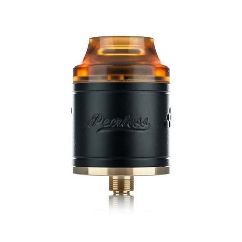 Peerless RDA by Geekvape, black. The Village Vaporette.