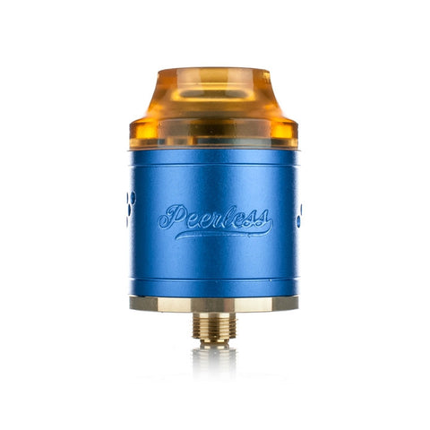 Peerless RDA by Geekvape, blue. The Village Vaporette.