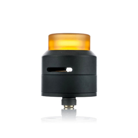 Goon Low Profile RDA by 528 Customs, black. The Village Vaporette.