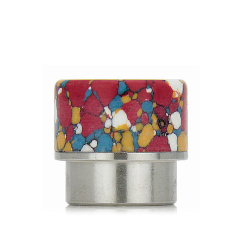 "Goon/Kennedy ""stone"" design drip tips, blue mosaic. The Village Vaporette."
