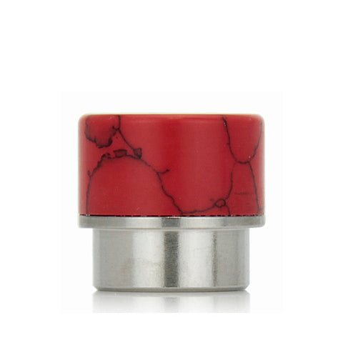 "Goon/Kennedy ""stone"" design drip tips, red. The Village Vaporette."