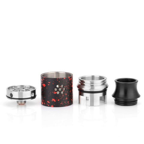 Hannya Postless RDA by Blitz Enterprises, parts. The Village Vaporette.