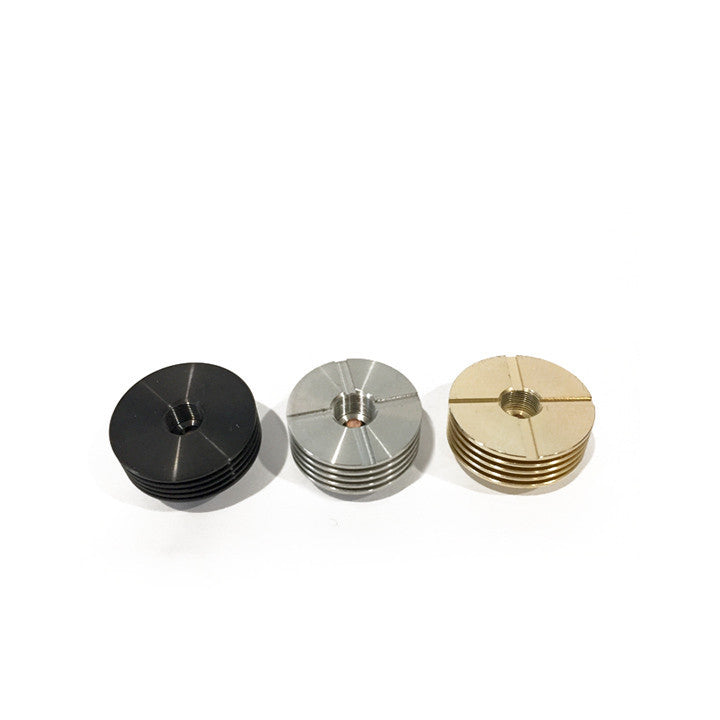 2mm heat sinks, black, ss, brass.