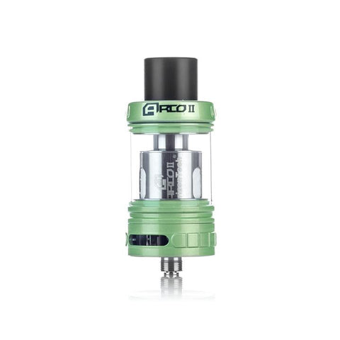 Horizontech Arco 2 Sub Ohm Tank, green. The Village Vaporette.