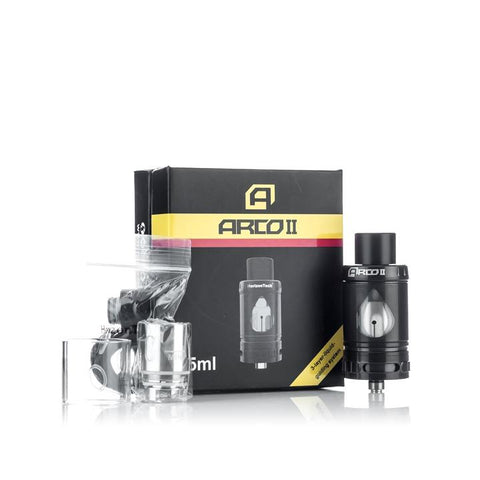 Horizontech Arco 2 Sub Ohm Tank, packaging. The Village Vaporette.