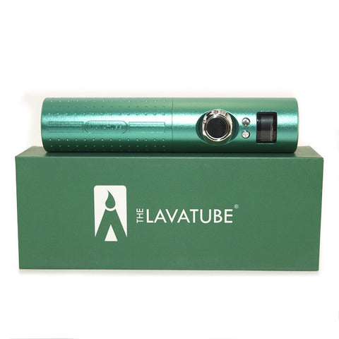 Lavatube 2.5, green. The Village Vaporette.