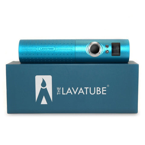 Lavatube 2.5, blue. The Village Vaporette.
