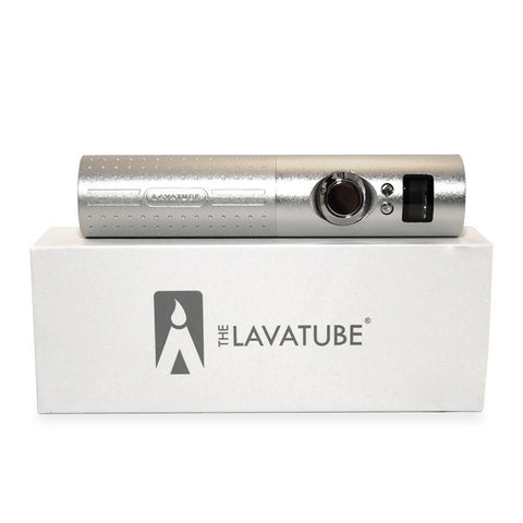 Lavatube 2.5, silver. The Village Vaporette.