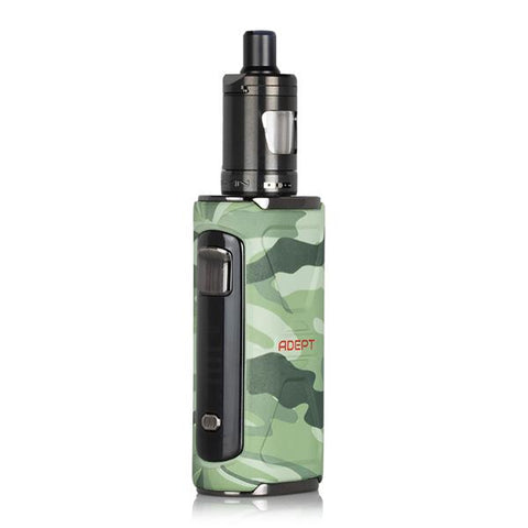 Innokin ADEPT Starter Kit, Forest Camo. The Village Vaporette, Cambridge, Ontario, Canada, mouth to lung vape, starter vape kit, low wattage, internal battery,