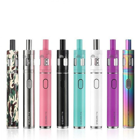 Innokin Endura T18 Starter Kit, all available colours. The Village Vaporette.