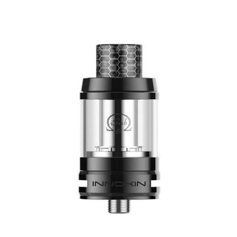 Innokin iSub B Sub-ohm Tank, Black. The Village Vaporette, Cambridge, Ontario, Canada, cheap tank, coil tank, mesh coils, top fill, 3mL, vape tank,