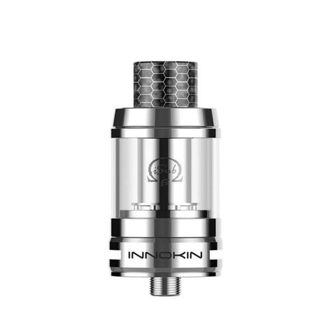 Innokin iSub B Sub-ohm Tank, Stainless Steel. The Village Vaporette, Cambridge, Ontario, Canada, cheap tank, coil tank, mesh coils, top fill, 3mL, vape tank,