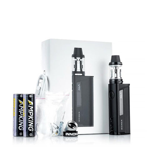 Innokin Oceanus 110W Starter Kit with Scion Tank, packaging. The Village Vaporette.