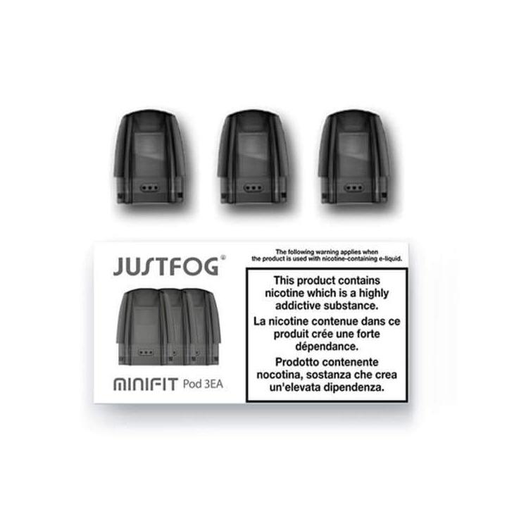 Justfog Minifit Replacement Pods, 3 pack The Village Vaporette.