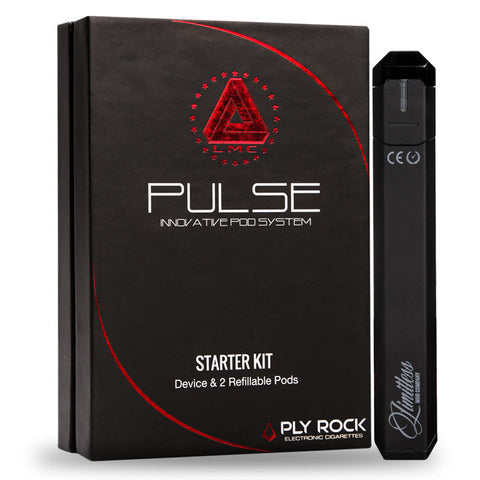 Pulse refillable pod system by Limitless Mod Co. The Village Vaporette.