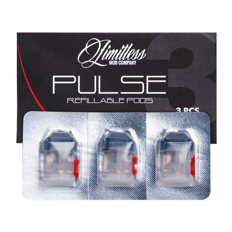 Refillable Pods for Limitless Pulse (3 pack)