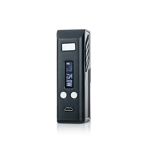 Lost Vape Skar 75W Box Mod, display. The Village Vaporette.