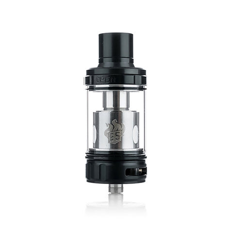 Eleaf Melo 300 Sub Ohm Tank, black. The Village Vaporette.