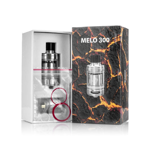 Eleaf Melo 300 Sub Ohm Tank, packaging. The Village Vaporette.