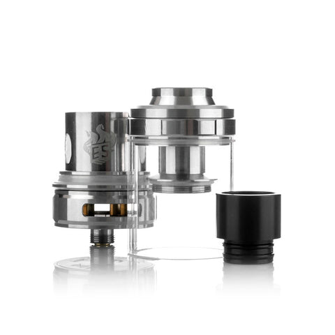 Eleaf Melo 300 Sub Ohm Tank, parts. The Village Vaporette.