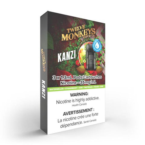 Nikki - Kanzi (Twelve Monkeys) 3 pack