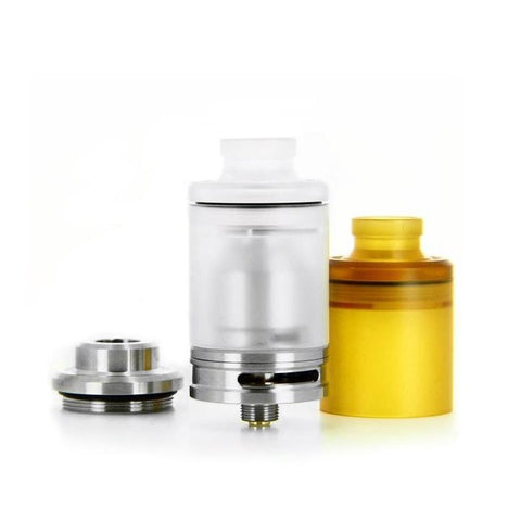 Odis Collection: The Tanko RTA, stainless steel. The Village Vaporette.