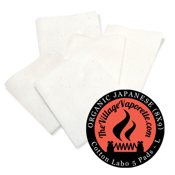 Authentic Koh Gen Do organic cotton pads. The Village Vaporette.