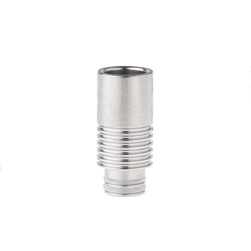 Polished drip tip. The Village Vaporette.