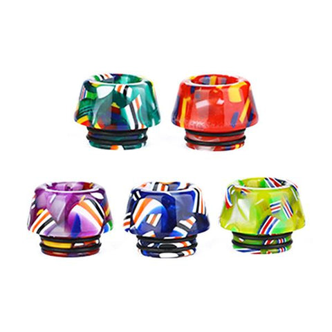 810 Resin National Flag Drip Tip