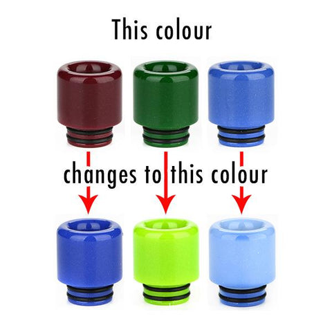 810 Resin Thermochromic (colour changing) Drip Tip