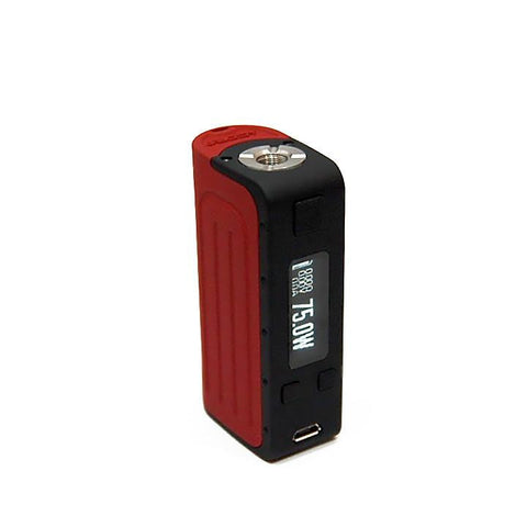 Elfin DNA 75W Mod, blackred. The Village Vaporette.