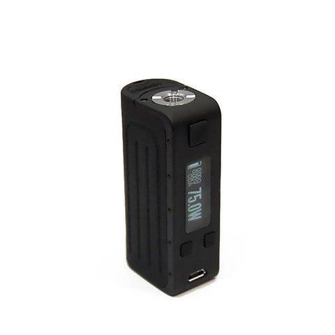 Elfin DNA 75W Mod, black. The Village Vaporette.
