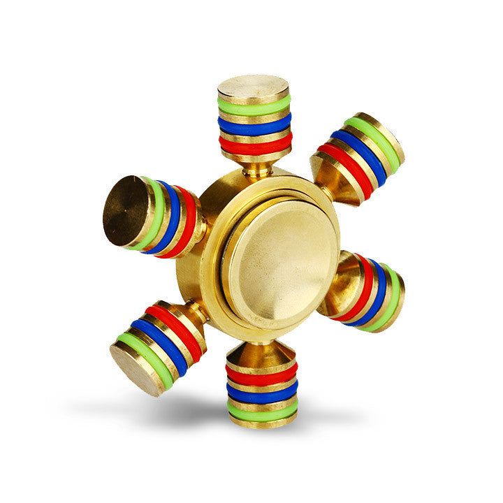Luminous Hand Spinner with Six Spins. The Village Vaporette
